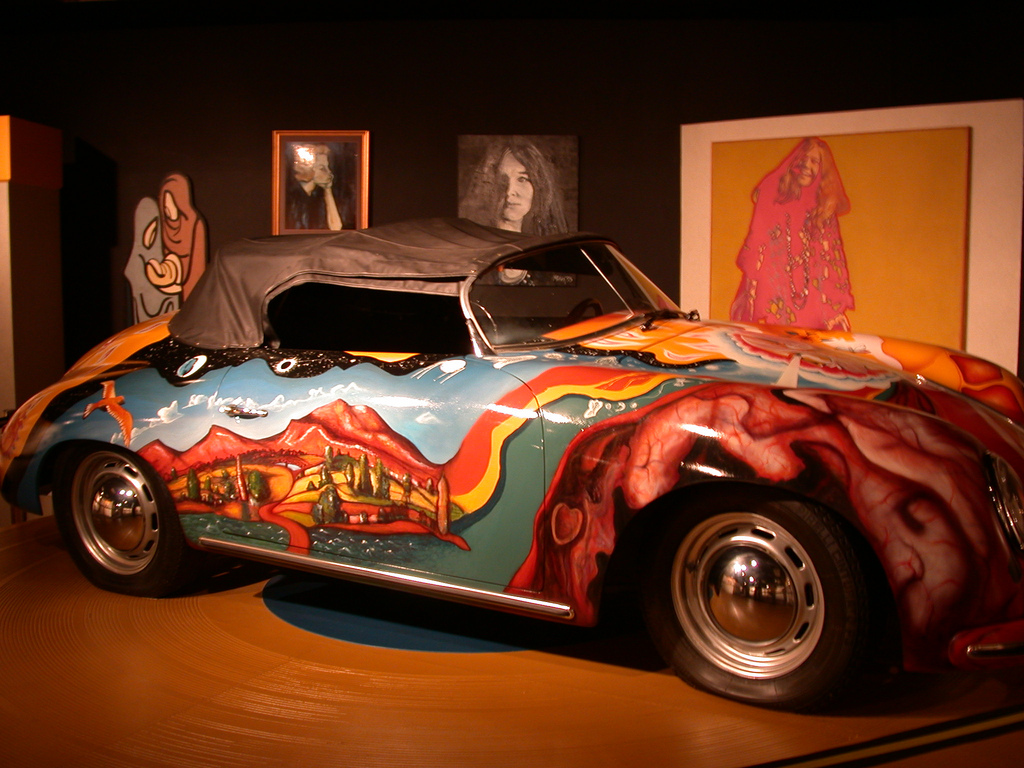 Janis Joplin Porsche 356 Convertible Porsche Mania