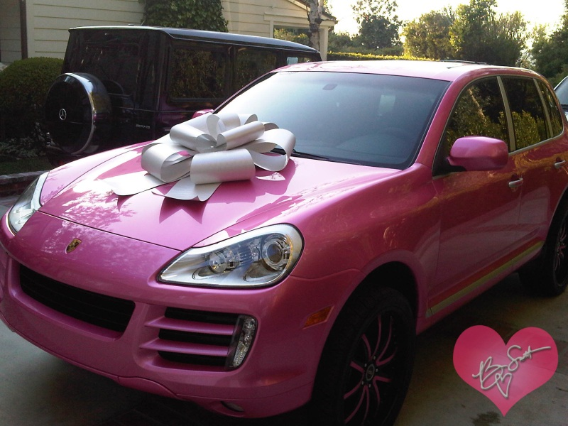 Porsche Cayenne Pink Mariah Carey P03 Porsche Mania