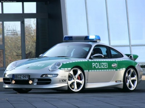 TechArt Porsche 911 Carrera S Police Car 2006