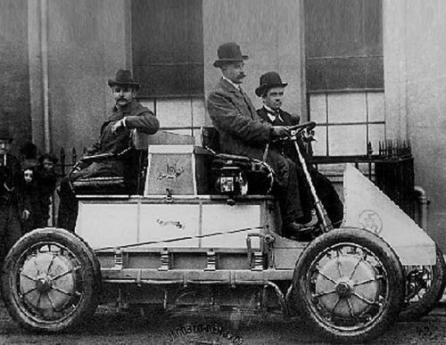 1900 Porsche Semper Vivus Hybrid