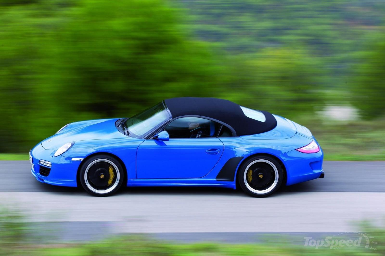 2010 Porsche 911 Speedster Porsche Mania