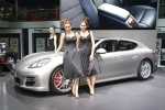 2010 Porsche Panamera and girls in shanghai