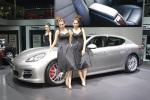 2010 Porsche Panamera and girls in shanghai