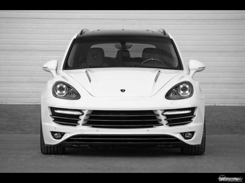 2011 TopCar Porsche Cayenne Vantage GTR 2 Front 1280x960