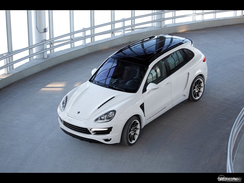 2011 TopCar Porsche Cayenne Vantage GTR 2 Front Angle Top 1280x960
