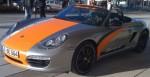 2011 Electric Porsche Boxter E Front angle view