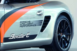 2011 Electric Porsche Boxter E Side view
