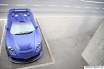 2011 Porsche Carerra GT Gemballa Mirage GT Matte Blue 1024x768 Top view