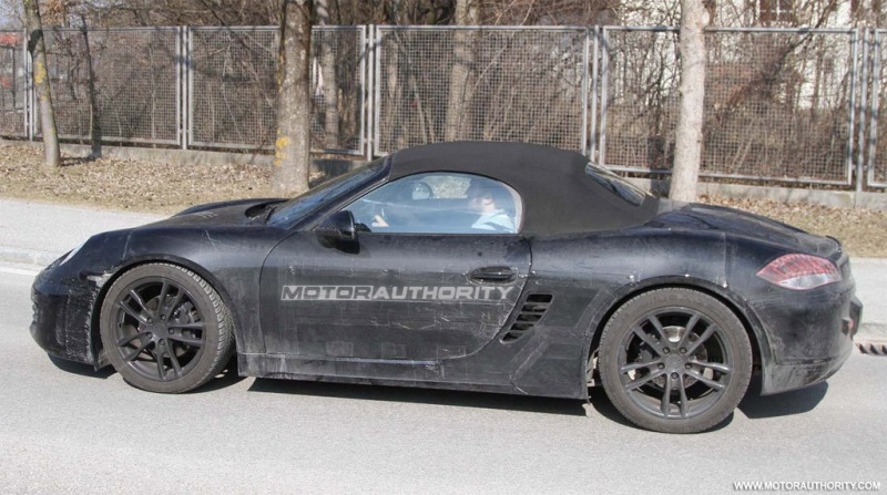 2012 Porsche Boxster will be pretty much similar to the current ...