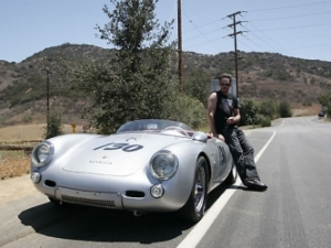 Celebrity car Kevin Dillon Porsche 550 Spyder