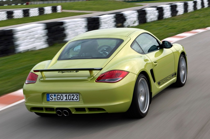 Peridot Metallic 2011 Porsche Cayman R