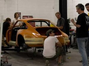 Porsche 911 Singer Design production