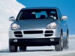 Silver Porsche Cayenne 2004 1600x1200 wallpaper