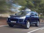 Dark Blue Metallic Porsche Cayenne 2008 1600x1200 wallpaper