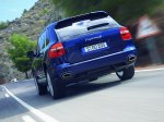 Dark Blue Metallic Porsche Cayenne 2008 1600x1200 wallpaper