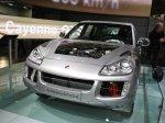 Classic Silver Metallic Porsche Cayenne Hybrid 2008 1600x1200 wallpaper