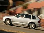 Clasic silver metalic Porsche Cayenne S 2004 1600x1200 wallpaper