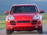 Red Porsche Cayenne S Titanium 2006 1600x1200 wallpaper