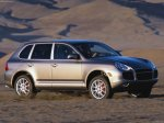 Umber metalic Porsche Cayenne Turbo 2004 1600x1200 wallpaper