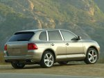 Meteor grey metalic Porsche Cayenne Turbo 2004 1600x1200 wallpaper