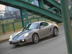 Silver Porsche Cayman 2007 1600x1200 wallpaper