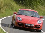 Red Porsche Cayman 2007 1600x1200 wallpaper