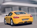 Yellow Porsche Cayman 2007 1600x1200 wallpaper