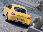 Yellow Porsche Cayman 2007 1600x1200 wallpaper