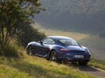 Blue Porsche Cayman 2007 1600x1200 wallpaper