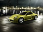Gold Porsche Cayman R_2011 1600x1200 wallpaper