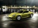 Gold Porsche Cayman R_2011 1600x1200 wallpaper