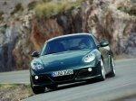 Green Porsche Cayman S 2009 1600x1200 wallpaper