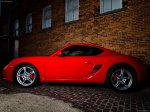 Red Porsche Cayman S 2009 1600x1200 wallpaper