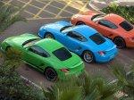Multicolor Porsche Cayman S 2009 1600x1200 wallpaper