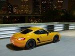 Yellow Porsche Cayman S Sport 2009 1600x1200 wallpaper