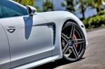 White Porsche Panamera by Vorsteiner