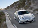 GT Silver Metallic Porsche Panamera 2010 1600x1200 wallpaper