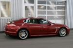 red Porsche Panamera