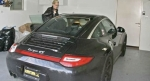 Samantha Ronson and Porsche 911 targa