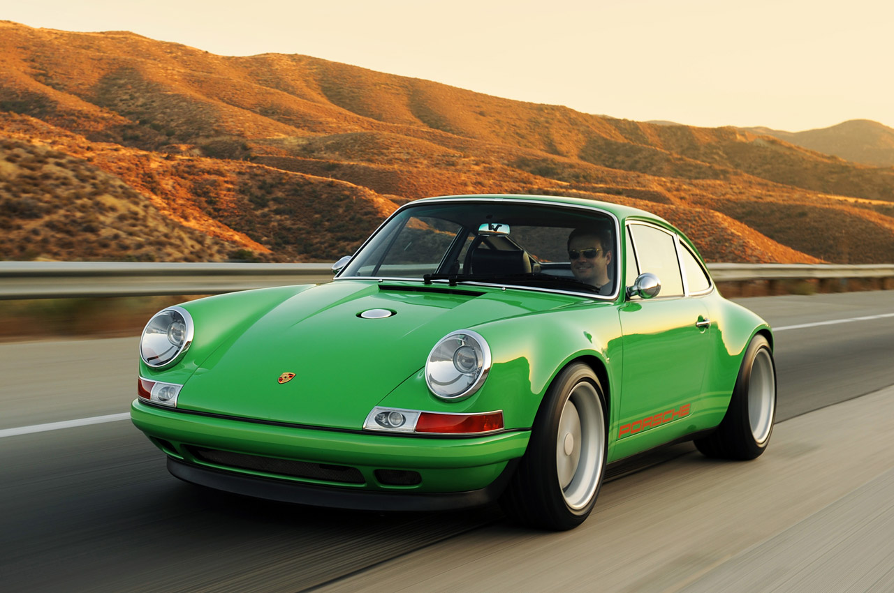 Singer Racing Green Porsche 911 Porsche Mania