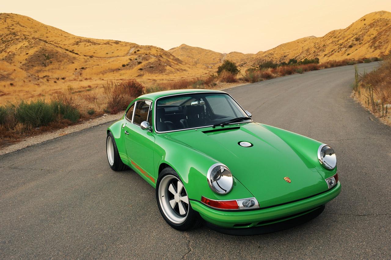 Singer Racing Green Porsche 911 | Porsche Mania