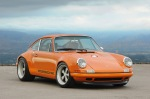 Singer Racing Orange Porsche 911