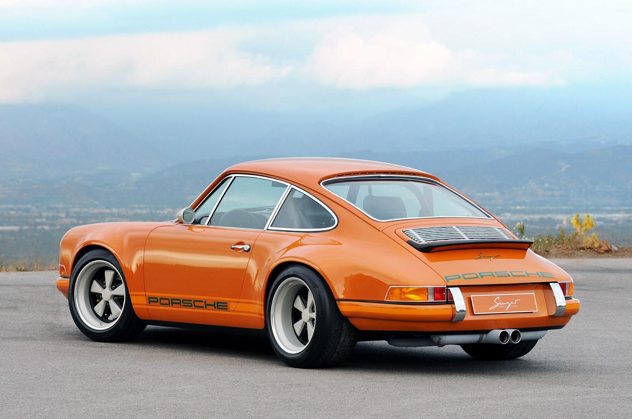 Singer Racing Orange Porsche 911 Porsche Mania
