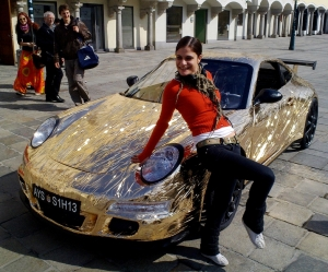 Slowest Porsche Ferdinand GT3 RS and Girl