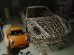 Slowest Porsche Ferdinand GT3 RS construction