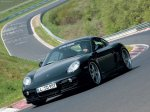 Black Strosek Porsche Cayman 2006 1600x1200 wallpaper